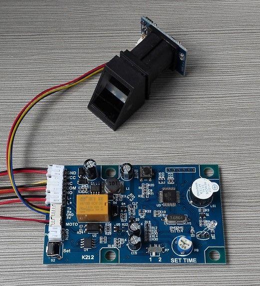 R305 lecteur d'empreintes digitales et K212 d'empreintes digitales contrôle conseil