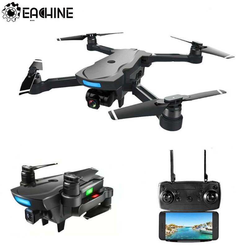 Eachine CG033 Quadcopter WiFi FPV w/HD 1080 p 2.0MP Gimbal Kamera GPS Bürstenlosen Servo Faltbare RC Drone Hubschrauber RTF Kinder Geschenk