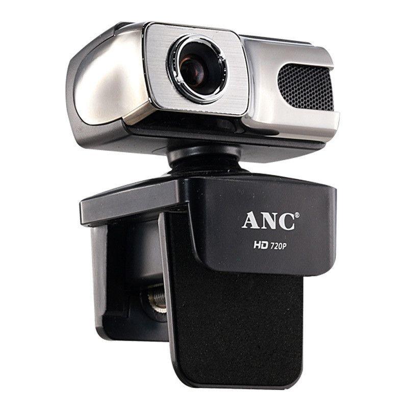 ANC Webcam HD 720 P 12 Mega USB Web Cam Freie Fahrt Smart TV Desktop PC Computer Video Laptop Kamera Nacht Mit Mikrofon