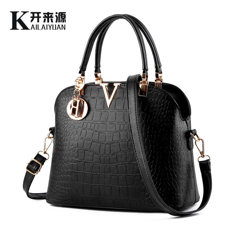 KLY 100% Genuine leather Women handbags 2018 New Sweet lady styling fashion handbag Crossbody Shoulder Handbag