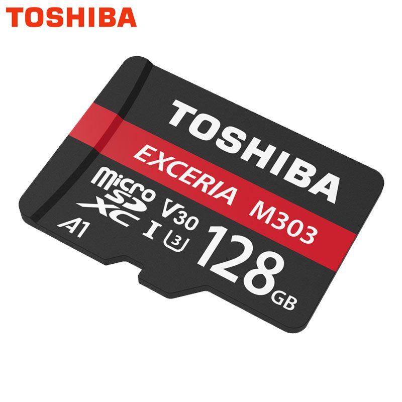 TOSHIBA Memory Card Micro SD 128GB 64GB 256GB 98Mb/s Micro SD Card U3 UHS-I TF Cards usb flash card Microsd Waterproof New