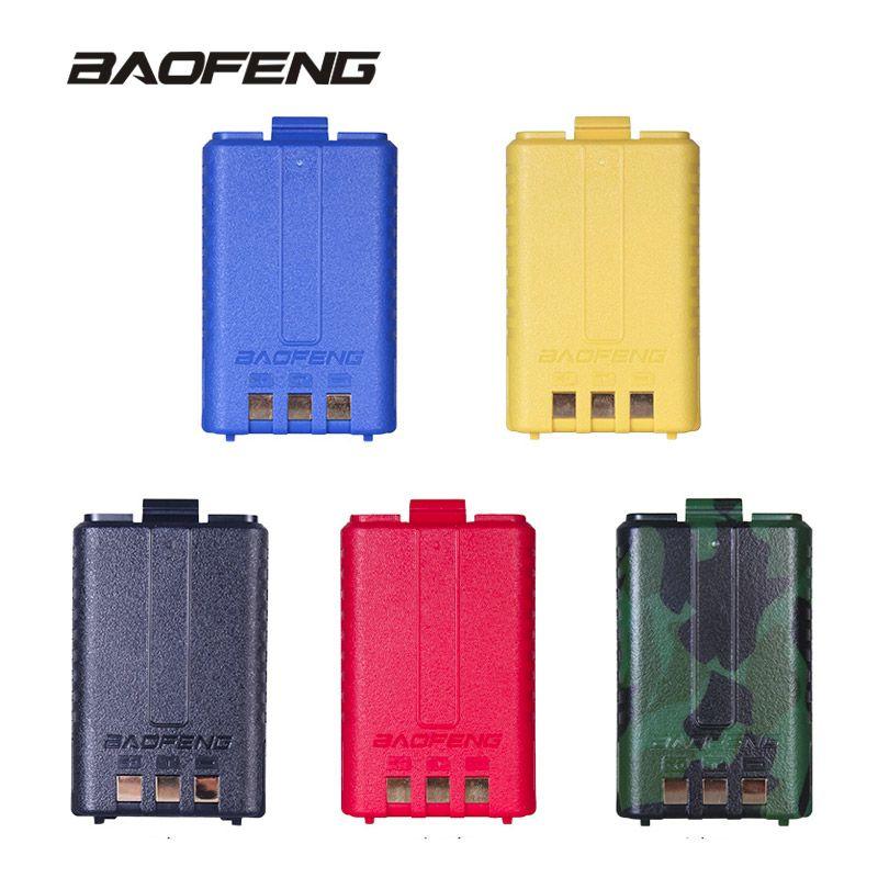 100% original uv-5r batería Walkie-talkies batería 1800 mAh capacidad para baofeng de dos vías Radios uv-5r uv-5re uv-5ra Accesorios