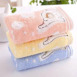 25x50 cm éléphant coton enfant serviette Main Serviette en gros Maison De Nettoyage Visage pour bébé pour Enfants de Haute Qualité Serviette de bain Ensemble