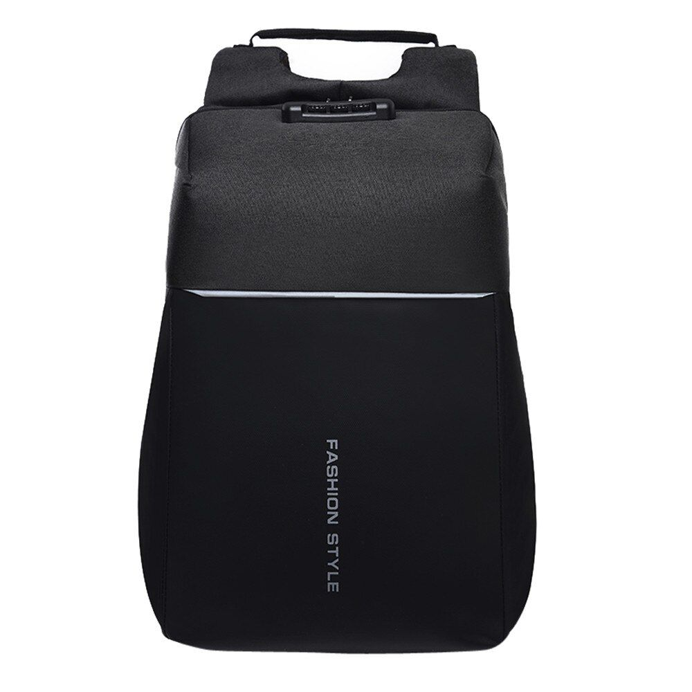 Backpacks Women Female Multi-functional Backpack Password Lock High-capacity Laptop Bag with USB Female Rucksacks Mochila A6