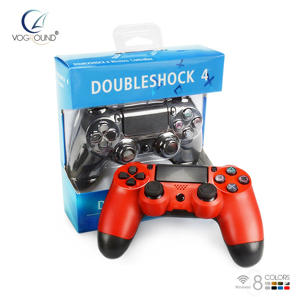 VOGROUND New For Sony PS4 Bluetooth Wireless Controller For PlayStation 4 Wireless Dual Shock Vibration Joystick Gamepads