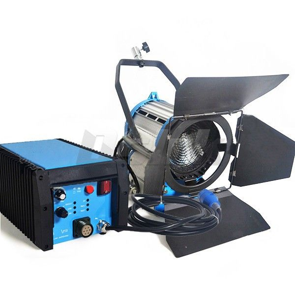 Cheap Dimmable 1200W HMI Fresnel Light Daylight Electronic Ballast With Case Camara Fotografica Video Light for Filming