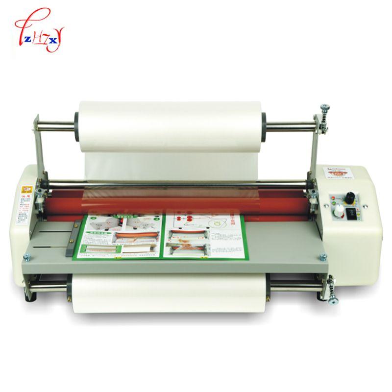 A2+Multi-function laminator machine Hot Rolling Mill Roller, cold laminator Rolling Machine film laminator 110v /220v 600w 1pc