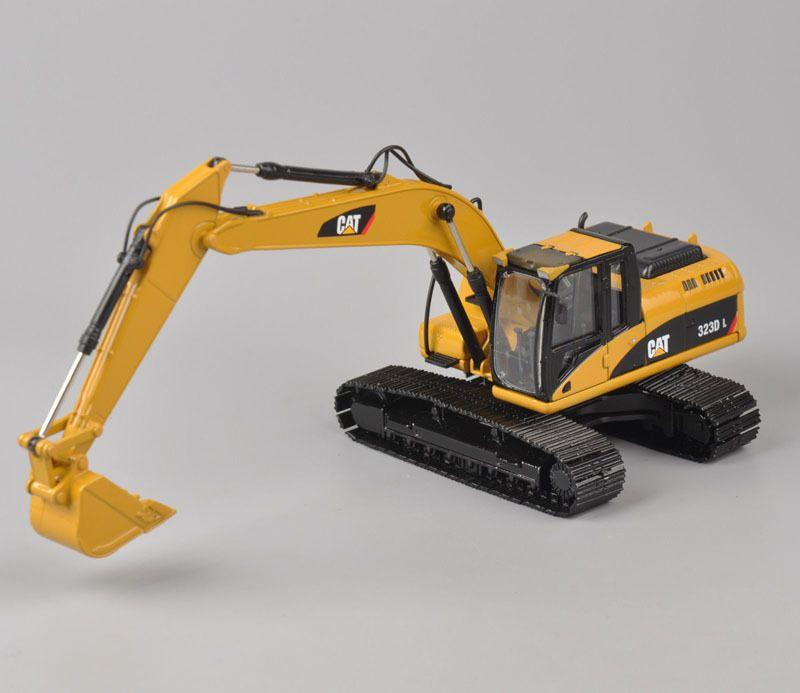 Seltene Norscot 1:50 Skala Caterpillar Cat 323D L Hydraulische Bagger Engineering Maschinen 55215 Diecast Spielzeug Modell Für Sammlung