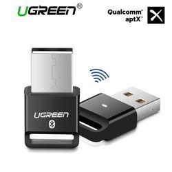 Ugreen Sans Fil USB Bluetooth Adaptateur APTX pour PC Bluetooth 4.0 Dongle Audio Récepteur Bluetooth Transmetteur pour 10/8/XP/Vista