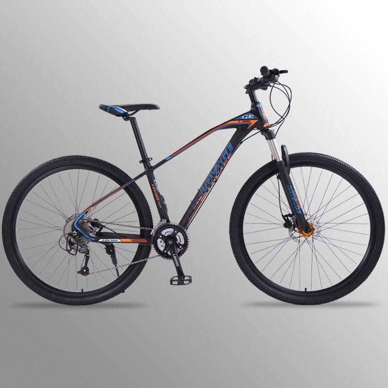 Wolf fang Fahrrad mountainbike 27 geschwindigkeit 29 Zoll Aluminium Legierung Rennräder mtb bmx fahrräder Dual disc bremsen von Freies verschiffen