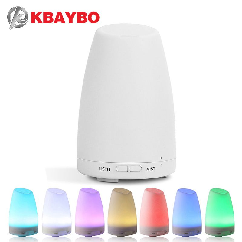 Ultrasonic air Humidifier Essential Oil Diffuser Aromatherapy Cool Mist maker desktop LED changing light aroma diffuser for home