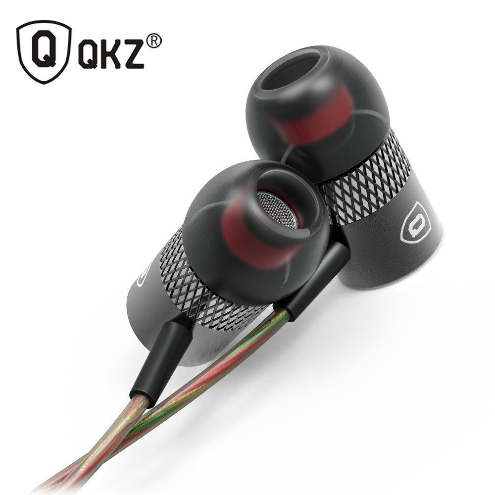 D'origine QKZ X3 In-Ear Écouteurs Unique Moteur Forme Cène Basse auriculares Casque Avec Micro Pour iPhone iPad Samsung MP3 MP4