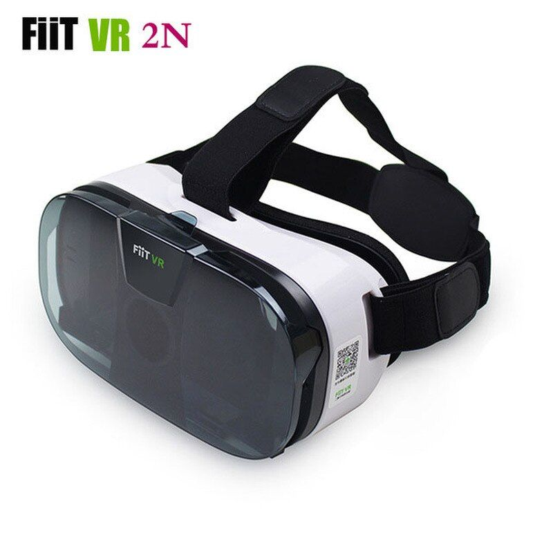 Casque de lunettes FIIT 2N VR 3D Box lunettes de réalité virtuelle casque vidéo Mobile 3D pour téléphone 4.0-6.5 + contrôleur Bluetooth intelligent
