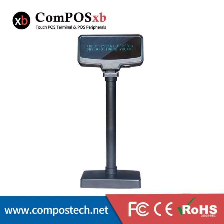 VFD Customer Display Cash register customer display USB RS232 interface