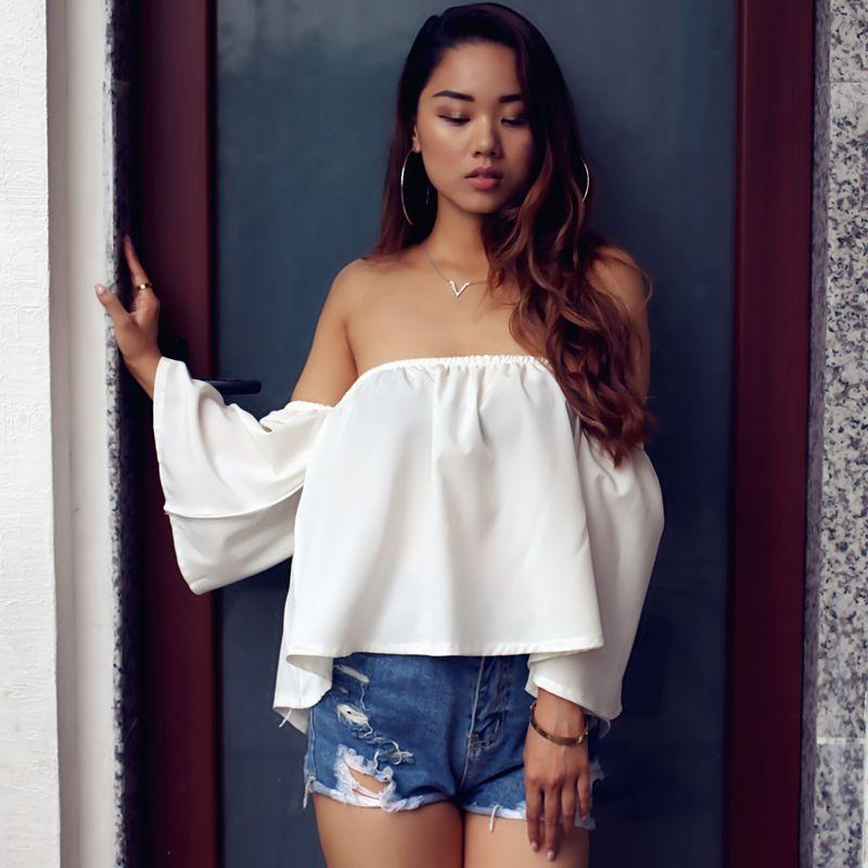 Tant de Charme Nouveau 2017 D'été Style Blanc Blouse Shirt Femmes Top Blouses Kimono À Manches Courtes Chemises Plage Casual Femmes Clothing7430