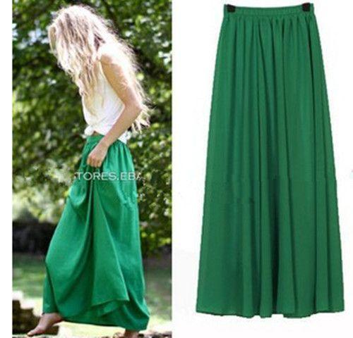 Grande taille longue Jupe Style élégant jupes femmes plissée Maxi Tulle jupes plage bohème été jupes Faldas Saia Jupe Femme