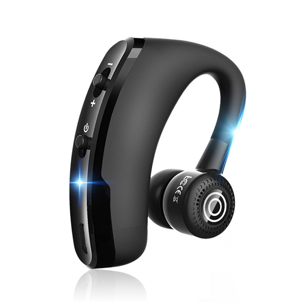 Nouveau V9 mains libres sans fil Bluetooth écouteurs contrôle du bruit affaires sans fil Bluetooth casque avec micro pour le Sport du conducteur