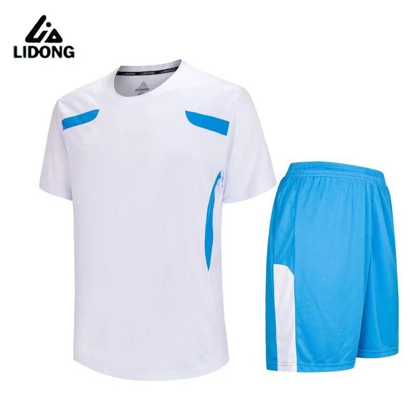 New boys mens Survetement football jerseys set breathable Kids soccer jersey Paintless shirts sports wear teens kits DIY custom