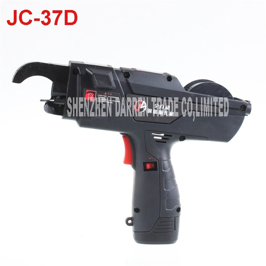 JC-37D 10.8V automatic tying rebar machine rechargeable lithium ligation electric steel rebar tying tools bundled