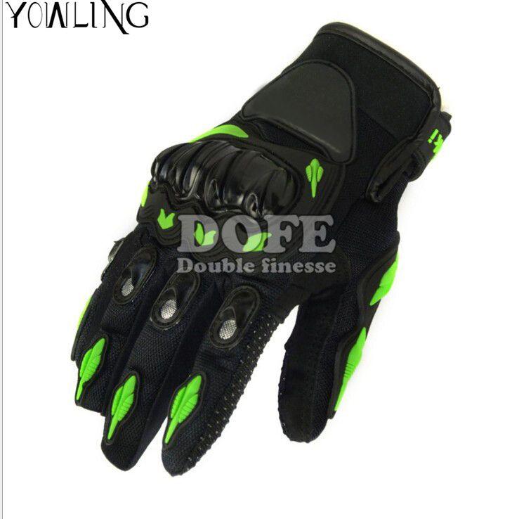 Man And Woman  Guantes Motoo Gloves Motorbike Luva Moto Motocicleta Motocross Guantes Gloves for Kawasaki Full Finger M L XL XXL