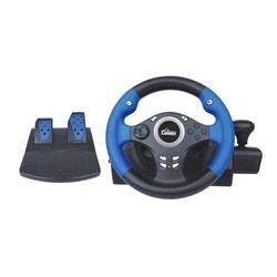NS9812A Game Steering Wheel 270-Degree Wired Controller Gaming Accessories With Brake Pedal For XBOX360 For PS3 For PC