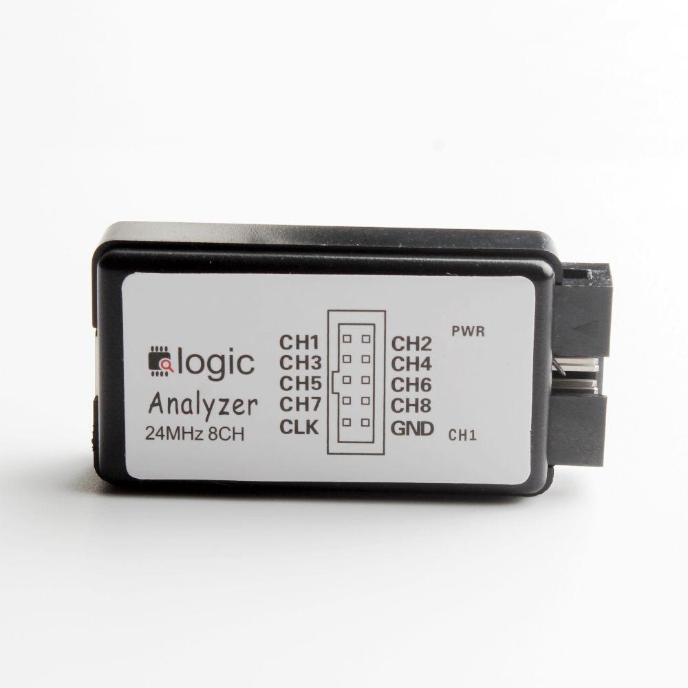 24 M 8CH Analizador Lógico W/Líneas y Cable USB para SCM