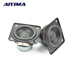Aiyima 2PC Full Frequency Speaker 48MM 4ohm 10W Neodymium Magnetic Audio Loudspeaker