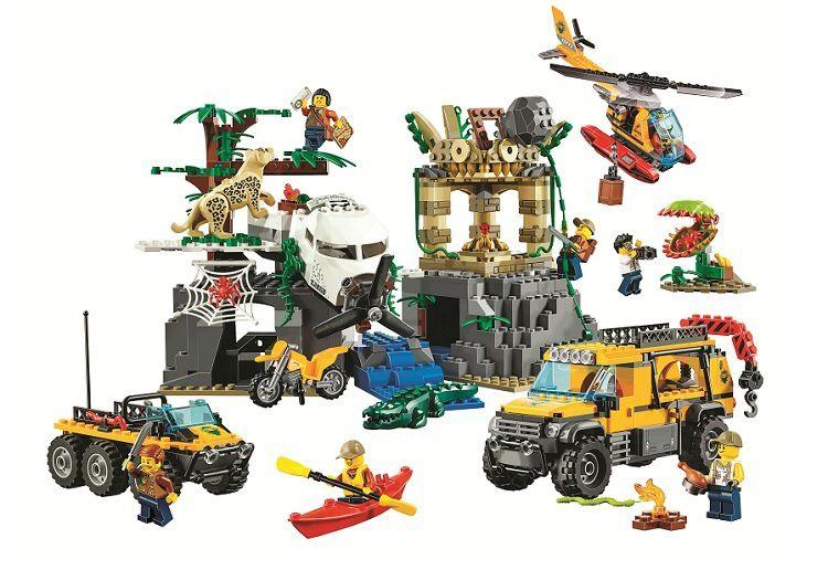 Bela 10712 Ungle Jungle Exploration Site Building Block Toys Children Gifts Cities Compatible with Legoings City Jungle 60161
