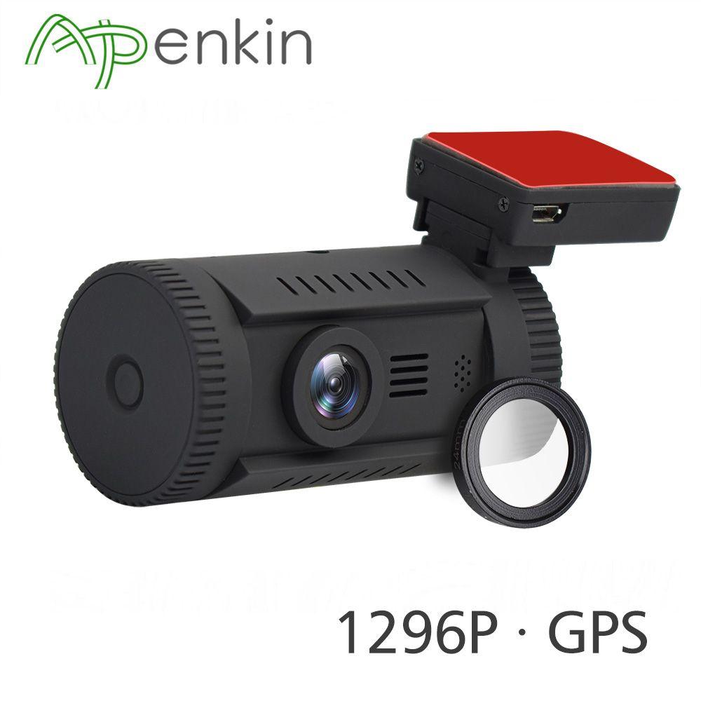 Arpenkin Mini 0826 Dash Car Camera DVR FHD 1296P Ambarella A7LA50 Car DVR GPS Dash Cam Auto Recorder ADAS WDR HDR and CPL Filter