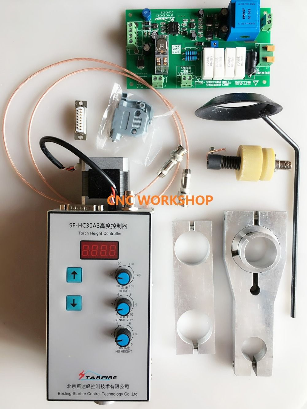 Automatic arc and cap torch height controller(SF-HC30A) for plasma cutter machines and flame cutters THC