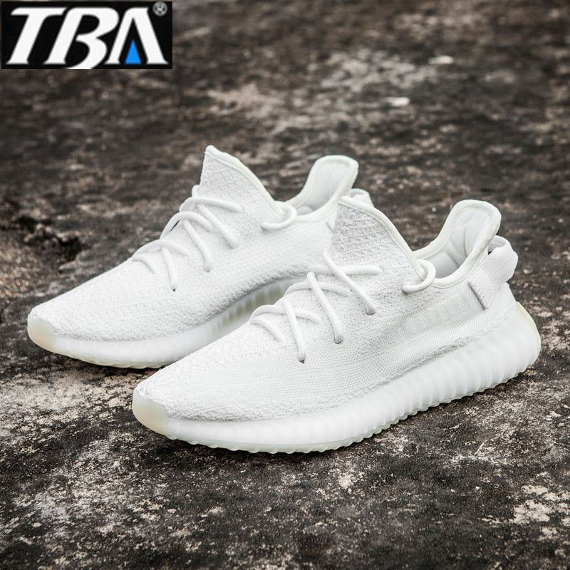 TBA Men's 350 V2 sneakers Shoes Men Breathable mesh <font><b>lovers</b></font> shoes brand Femme Chaussure Ultras Boosts running Shoes Size 36-45