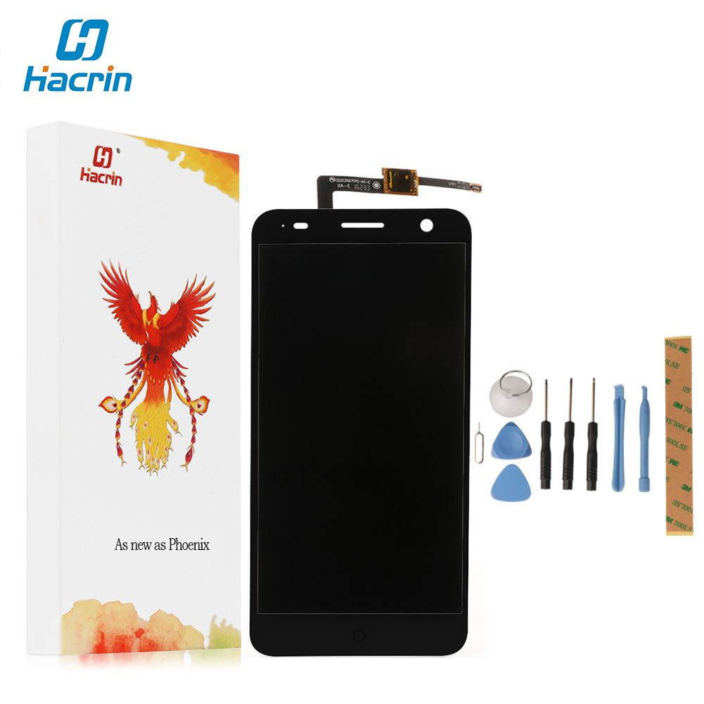 Hacrin For ZTE Blade V7 LCD Display +Touch Screen+Tool High Quality 100% New Digitizer Screen Glass Panel For ZTE Blade V7 5.2''