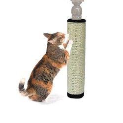 السيزال الطبيعي غير سامة القنب القط الخدش مشاركة حماية الأثاث طحن مخالب القط هرش لعبة