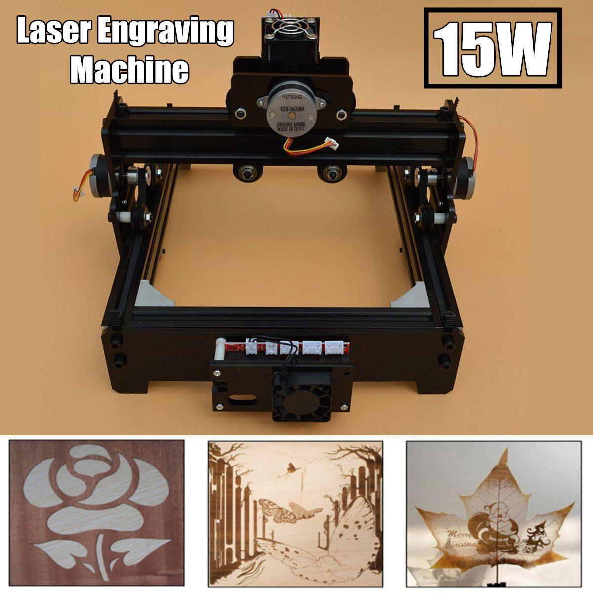 15 watt DIY Mini CNC Laser Gravur Maschine Laser Gravur Holz Router Metall Kennzeichnung Gravur 2018 Beste Erweiterte Spielzeug Neue ankunft