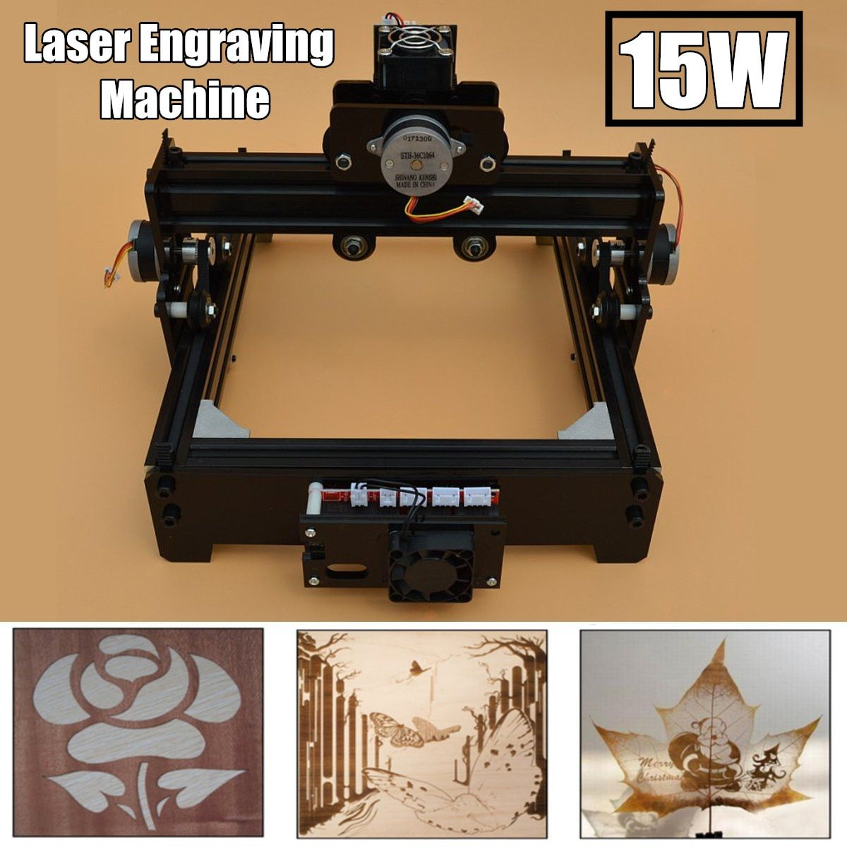 15W DIY Mini CNC Laser Engraving Machine Laser Engraving Wood Router Metal Marking Engraving 2018 Best Advanced Toys New Arrival