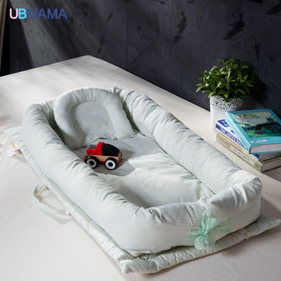 De haute qualité coton pliable dormeur portable enfants lit doux Nouveau-Né lit bébé bébé produit pour 0-36 M bébé