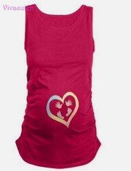 Été Plus La Taille Les Femmes Enceintes T-shirts De Maternité T-shirts Vêtements Haut D'allaitement Grossesse