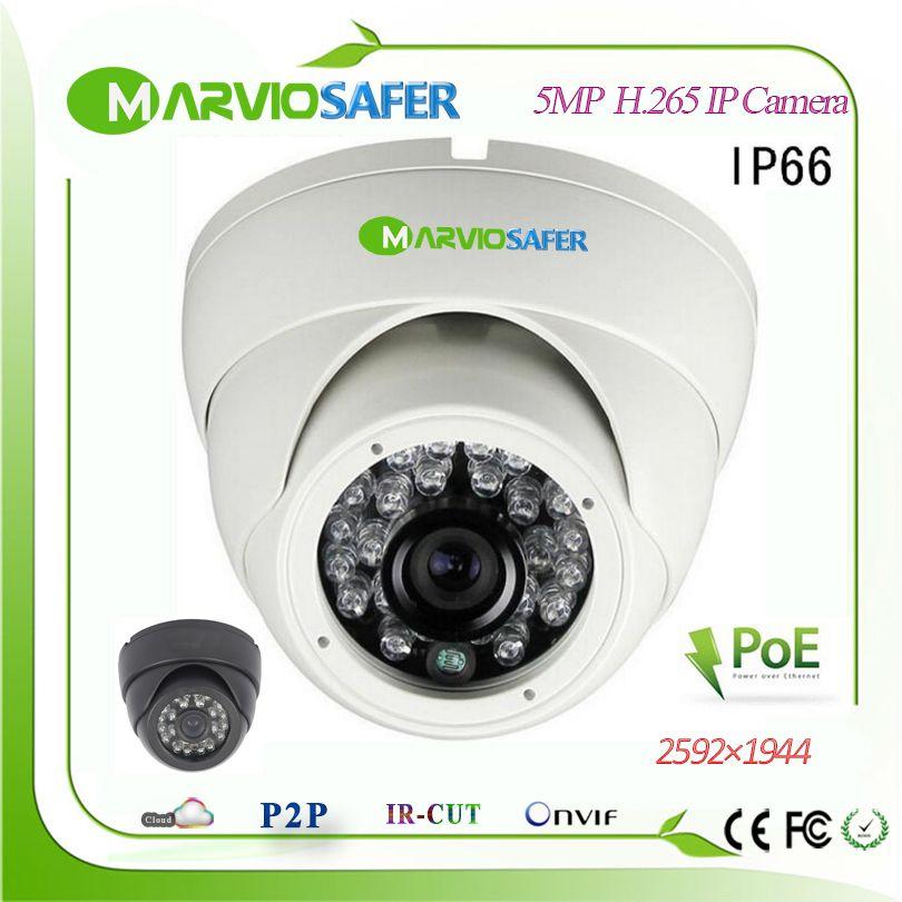 H.265/H.264 5MP 2942x1944 Full HD 1080 P Dome Außen POE IP netzwerk Kamera CCTV Video Camara Sicherheit IP Cam Audio Onvif RTSP