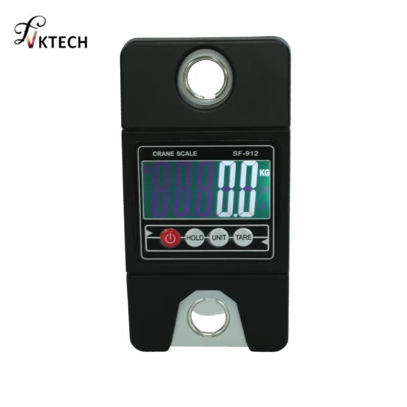 300kg Mini Industrial Crane Scale Portable Handle Digital  LCD Electronic Scale Heavy Duty Hanging Weight Hook Scale