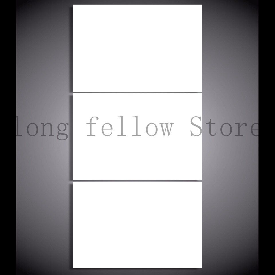 Dropshipping Wall Decor 3 Pieces Horizontal Custom Canvas Print Painting Canvas Wall Art Home Decor Customized Wholesale gift