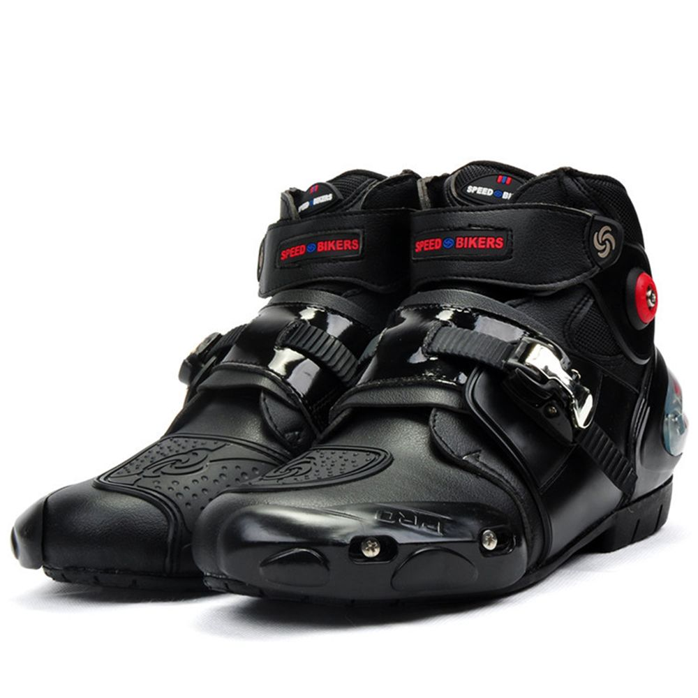 Professionnel moto rbike moto rcycle bottes moto cross racing bottes étanches cycliste protéger cheville moto chaussures