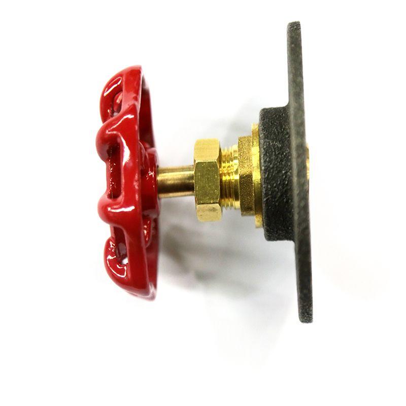 1 pièces métal crochets American LOFT industriel vapeur Valve volant Style rétro créatif crochets pour accrocher tiroir poignée-Z47