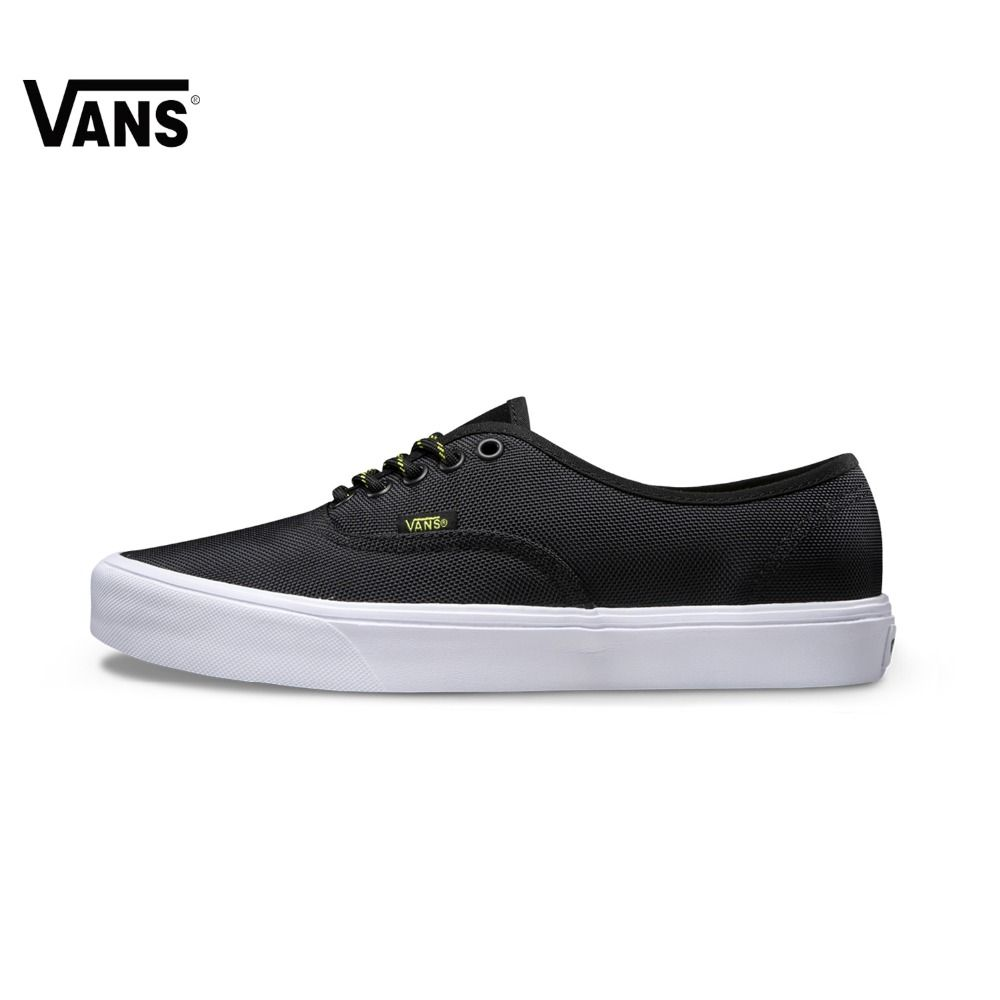 Men Black Vans Sneakers Low-top Trainers Sports Skateboarding Shoes Breathable Rubber Flat Classic Canvas Vans Shoes for Men