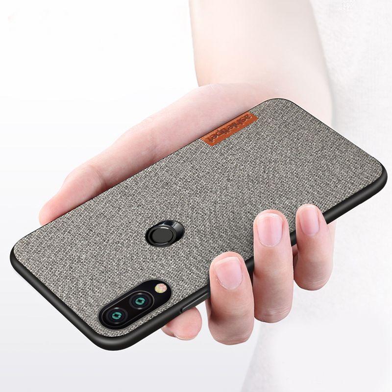 For Xiaomi Redmi Note 7 Case 6a 5 4X Note5 4 Retro cloth Ultra-thin Silica gel protective case For xiaomi Redmi K20 PRO mi 9 8 6