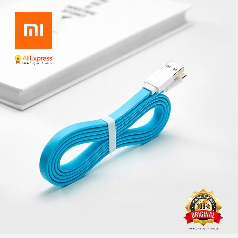 Xiaomi Mi Original USB Type C Fast Charging Data Cable Type-C 1200mm Support 5V 2.1A Fast Charge 120cm