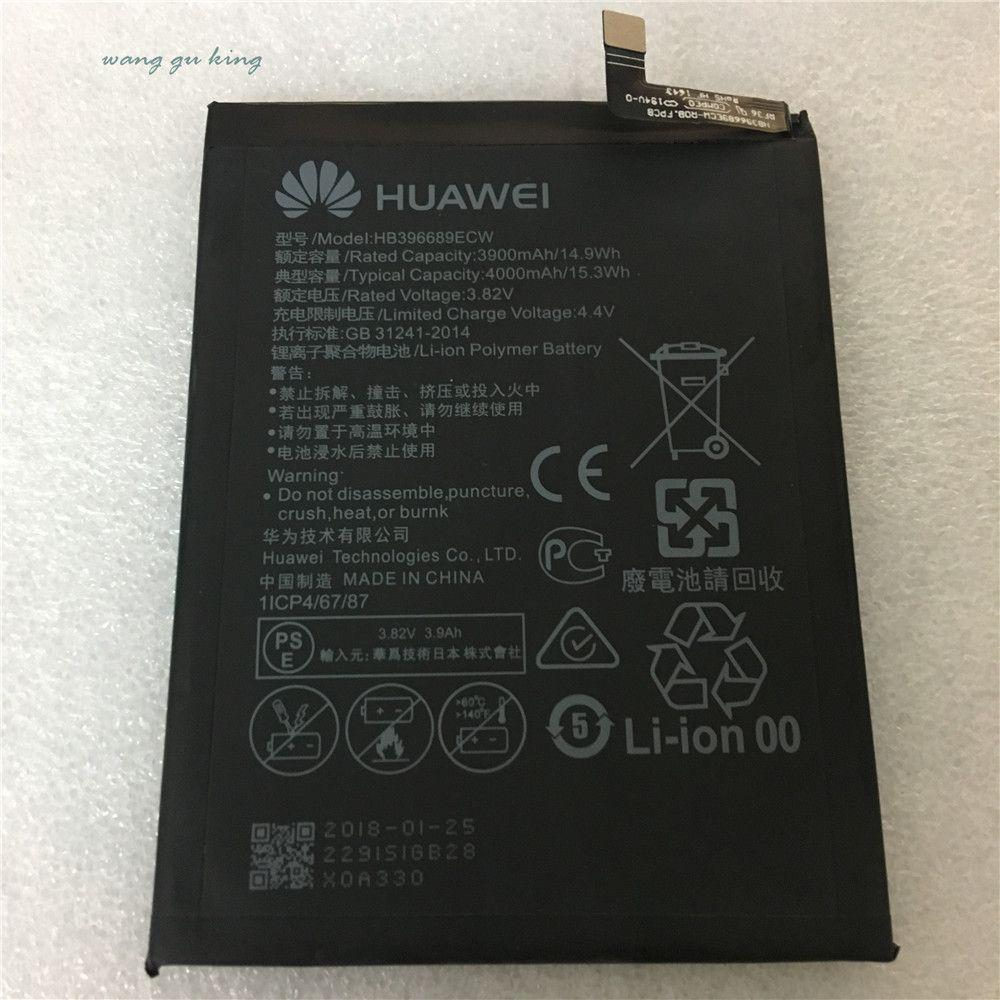 2018 New Original For Huawei HB396689ECW Rechargeable Li-ion phone battery For Huawei Mate 9 Mate9 4000mAh