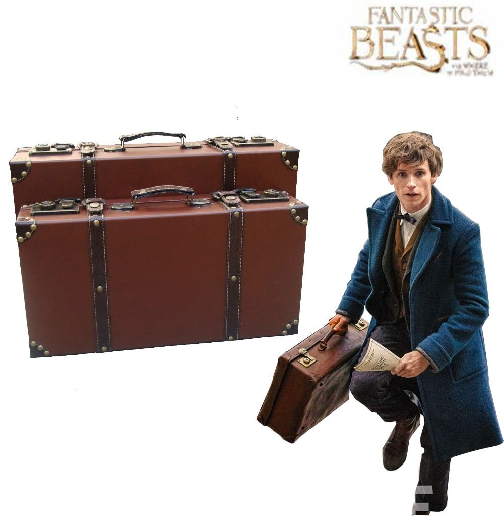 Free Shipping Fantastic Beasts and Where to Find Them Newt Scamander Magic Case Film Cosplay Accessories