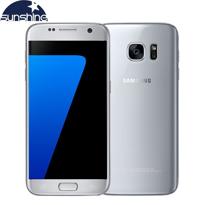 Original Samsung Galaxy S7 4G LTE Mobile phone G930V/F/A 4G RAM 32G ROM 5.1'' 12.0MP Camera NFC Android Smartphone