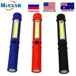 Zk10 COB светодиодный мини ручка многофункциональный фонарик световая Ручка рабочий фонарик ручной работы с нижним магнитом дропшиппинг