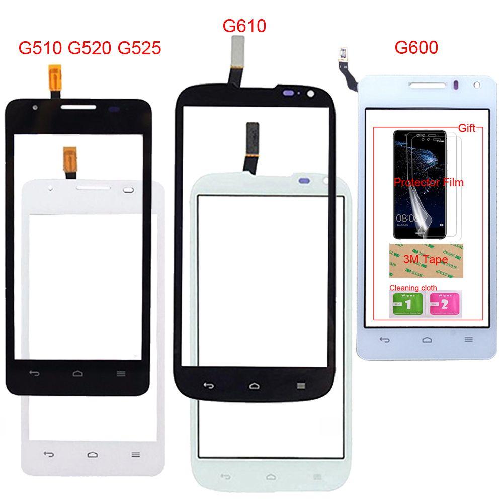 Mobile Touch For Huawei Ascend G510 G520 G525 U8951 G610 C8815 G600 U8950 U8950D Touch Screen Front Glass Digitizer Panel Sensor